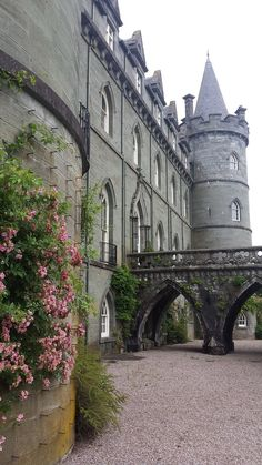 Inveraray Castle in the county of Argyll (Western Scotland) © Enriching My Soul