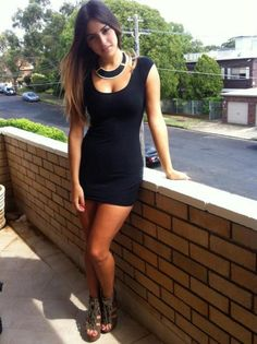 Every woman needs a simple black dress.