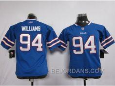 http://www.bejordans.com/free-shipping-60-off-nike-youth-nfl-jerseys-buffalo-bills-94-williams-blue.html FREE SHIPPING ! 60% OFF! NIKE YOUTH NFL JERSEYS BUFFALO BILLS #94 WILLIAMS BLUE Only $20.00 , Free Shipping!