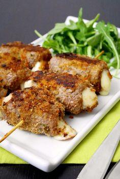 "Meat rolls ""messinese"" / Spiedini alla messinese | #ricetta #recipes #recipe #italianrecipe"