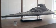40,000 Piece LEGO Star Destroyer Tips The Scales At 110 Pounds