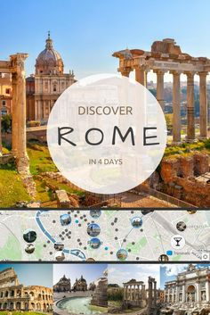 All roads lead to #Rome. Where to go? What to do in Rome within 4 days? Discover the city in its full beauty. Don't miss out any of the best sight of Rome with #Tripomatic 4 days itinerary.