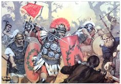 Historical Warrior Illustration Series Part XV Military Art, Military History, Ancient Rome, Ancient History, Rome Antique, Roman Warriors, Roman Legion, Germanic Tribes, Empire Romain