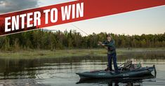 Don't miss your chance to win this ultimate fishing rig – the all-new Old Town Predator PDL With forward reverse, maneuverability and stability, it's one of the best fishing boats in its segment. Best Fishing Boats, Fishing Rigs, Fishing Knots, Trout Fishing, Fly Fishing, Scenic Photography, Night Photography, Landscape Photography, Canadian Contests