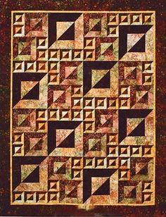 Magic Squares Quilt Pattern by Helene Knott's & Story Quilts  at Creative Quilt Kits