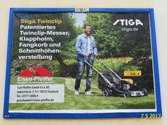 1152. - Plakat in Stockach. / 07.05.2017./
