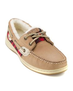 Sperry Top Sider Women's 'Bluefish' Leather Boat Shoe... For winter.