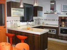 1000 images about cocinas on pinterest puertas for Cocinas modernas con desayunador