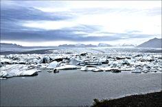 Jökulsárlón, IJsland.