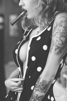 Girls with Cigars