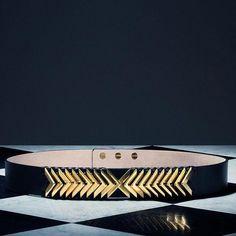 H&M x Balmain Belt as seen on Kendall Jenner