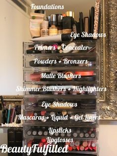 Storage - My Vanity Area, Beauty & Makeup Storage 02