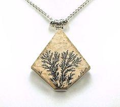 Rare Dendritic Psilomelane Sterling Silver by TheSilverBear