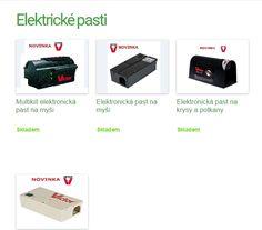 Elektrické a spolehlivé pasti na myši i krysy Shopping