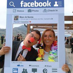 Facebook Photo Prop Birthday or Wedding by CreativeUnionDesign