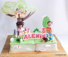 1st Bday Cake, 4th Birthday, Birthday Parties, Birthday Ideas, Fondant Figures, Fondant Cakes, Cupcake Cakes, Cupcakes, Purple Squirrel