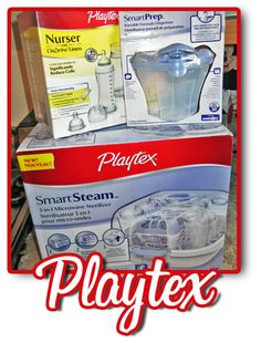 Playtex Baby Review & Giveaway: WIN Playtex Nurser Bottles Kit, SmartSteam Microwave Sterilizer & Formula Dispenser from MamaNYC!