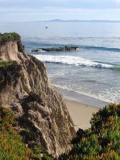 I have a thing for cliffs...especially Santa Barbara cliffs