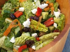 Big Italian Salad with Homemade Italian Dressing - Once Upon a Chef Italian Salad Recipes, Healthy Salad Recipes, Whole Food Recipes, Healthy Lunches, Italian Dishes, Quick Recipes, Healthy Eats, Healthy Foods, Dinner Recipes