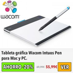 Tableta gráfica Wacom Intuos Pen. #ofertas #descuentos