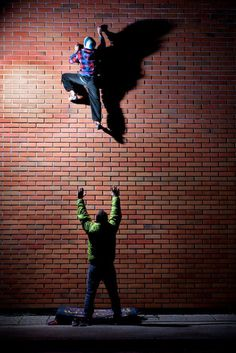 #Climbing the #Brick #Wall - #Bouldering