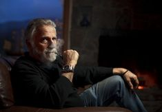 """Jonathan Goldsmith, """"The Most Interesting Man in the World,"""" in the beer ads, lives quietly in Vermont. He fights for land mine removal. Jonathan Goldsmith, Land Mine, Macho Alfa, Spotlight Stories, Old Best Friends, Good Listener, Why Do People, Stevie Wonder, George Clooney"""