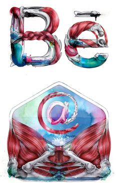 Musculante: Illustrations by Giselle Vitali | Inspiration Grid | Design Inspiration