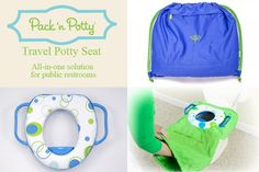 Tottigo Pack n' Potty | Baby Smyles #children #kids #pottytrain