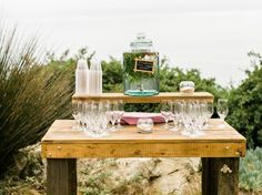 Big Sur Wedding, Wood Table, Rustic Wood, Recycling, Table Decorations, Handmade, Photography, Vintage, Home Decor