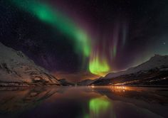 Northern lights, blood moons and brilliant stars - in pictures