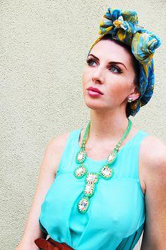 Turban & Maxi Dress