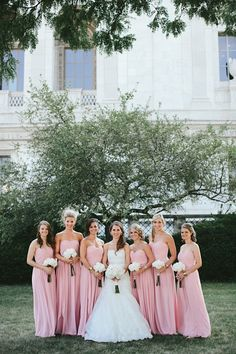 Brandon Scott Photography #wedding #bride #bridesmaids