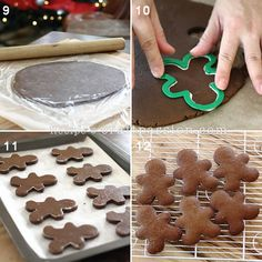 Recipe | Gingerbread Cookie | Free Pattern & Tutorial at CraftPassion.com