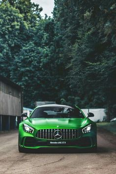 Mercedes AMG GT R...wouldn't mind having this in my garage one day