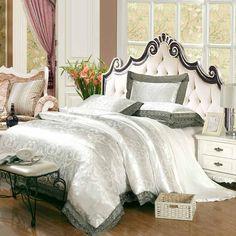 wu0026p tencel fabric tencel satin jacquard bedding wedding kit set of 4