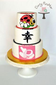 Cake for three siblings