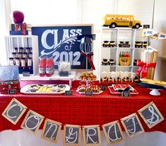 dessert table for graduation party -   Google Search