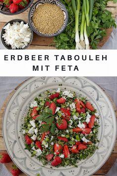 Erdbeer Tabouleh mit Feta - Labsalliebe