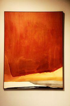 Sunset Corner by Helen Frankenthaler Robert Motherwell, Helen Frankenthaler, Willem De Kooning, Jackson Pollock, Contemporary Abstract Art, Modern Art, Morris Louis, Eva Hesse, Cy Twombly
