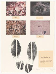 1969 from Projects by Dennis Oppenheim. Dennis Oppenheim, Helen Frankenthaler, Exposure Photography, Gcse Art, Environmental Art, Australian Artists, Film Stills, Land Art, Art Object