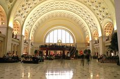 union-station  Very busy place and beautiful