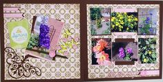 "SOLD OUT!  - ""Spring Beauty"" Scrapbooking Kit by Diva Karen!!"
