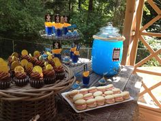 Pirate birthday party desserts! See more party ideas at CatchMyParty.com!