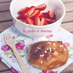E dopo le madeleines, Martina ha sfornato le girelle all'uvetta di pagina 31. Per la sua mamma... #quifragoleamerenda