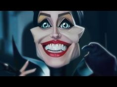 Maleficent (Caricature Speed Painting) by Israel Oliveras Horta - YouTube