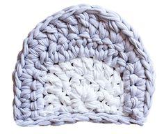 SusiMiu     Patrón alfombra de Trapillo Modelo TEO  (Cabeza de Oso)