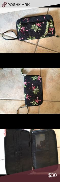 Vera Bradley wristlet I have the matching backpack for sale on here as well. In good condition. No low balling. Thanks Bags Clutches & Wristlets