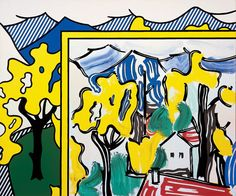 Painting in Landscape, Roy Lichtenstein