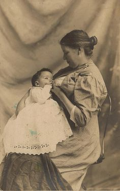 #breastfeeding vintage photo