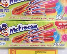 boodschappen Franse supermarkt Mr Freeze